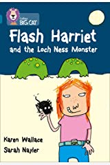 Flash Harriet and the Loch Ness Monster: Band 13/Topaz (Collins Big Cat) Kindle Edition