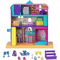 Polly Pocket Pollyville coffret École avec mini-figurines Polly et Nicolas, plusieurs espaces de jeu et accessoires…