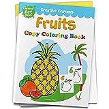 Colouring Book of Fruits: Creative Crayons Series - Crayon Copy Colour Books