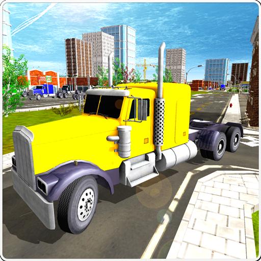 Truck Driver Cargo Transporter