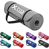 XN8 Yogamat Antislip NBR 15mm Gymnastiekmat Extra Dik Fitnessmat Met Draagriem Oefenmat milieuvriendelijk Hoge Dichtheid Yoga