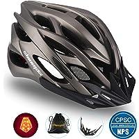 Shinmax Fahrradhelm,mit CE Zertifikat Fahrradhelm Abnehmbarem Visier für Männer&Frauen,Fahrradhelm für BMX,Scooter Skate…