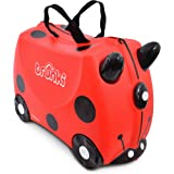 Trunki Children's Ride-On Suitcase & Hand Luggage: Harley Ladybug (Red)
