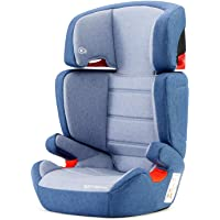 kk Kinderkraft Seggiolino Auto JUNIOR FIX, con Isofix, Poggiatesta Regolabile, per Bambini da Gruppo 2/3, 15-36 Kg, Blu