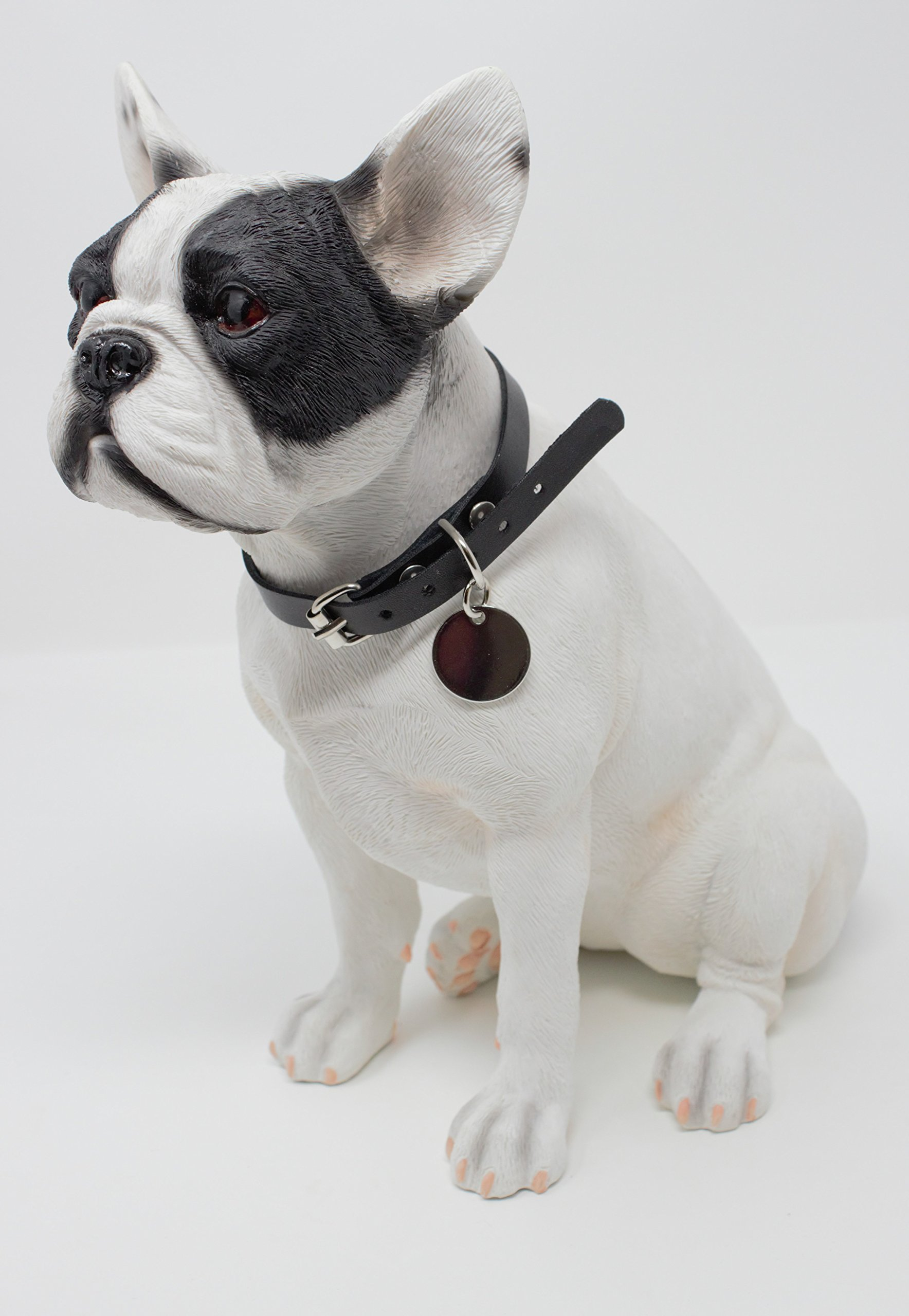 Lesser & Pavey White French Bulldog Sitting, h26cm