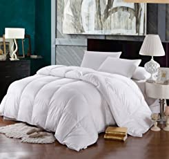 30/70 Down and Feather Duvet for Extreme Cold Weather-White