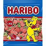 HARIBO - Cerezas con Azúcar Super, Caramelo de Goma, 1 Kg