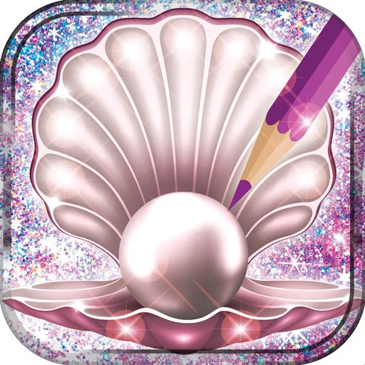 Seashells-Malbuch