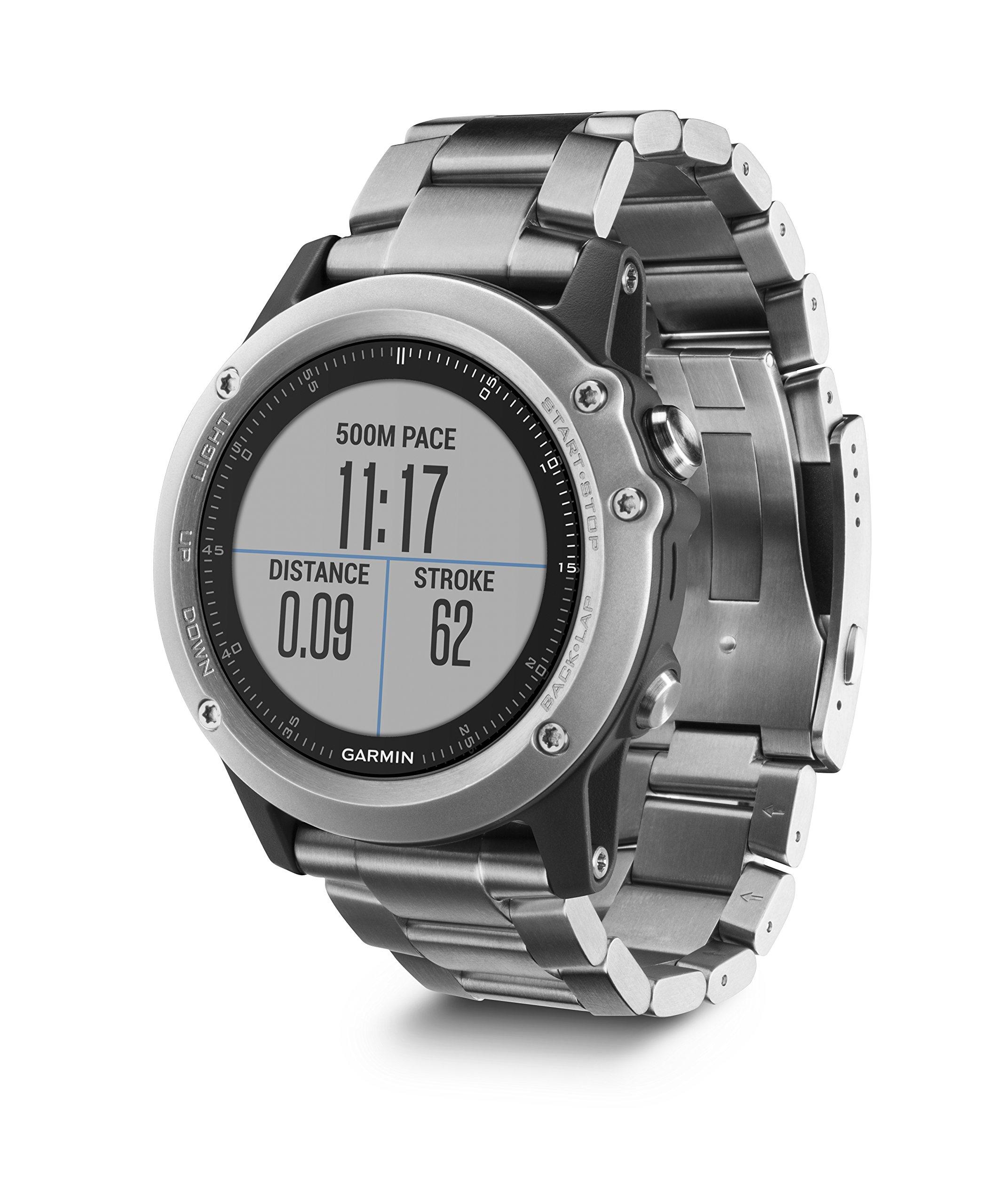 Garmin Fenix 3 HR Smartwatch GPS Multisport, Sensore Cardio al Polso, Display a Colori, Altimetro e Bussola, Nero/Grigio 4 spesavip