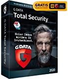 G DATA Total Security 2020, 3 Geräte - 1 Jahr, DVD-ROM inkl. Webcam-Cover, Antivirus für Windows, Mac, Android, iOS…