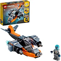 LEGO Cyber Drone Building Blocks for 6 Years and Above