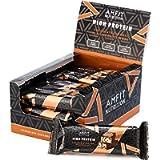 Marchio Amazon- Amfit Nutrition Barretta proteica a basso contenuto di zuccheri (19,6gr proteine - 1,6gr zucchero…