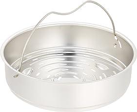 Fissler 61030000800 Einsatz gelocht für Schnellkochtopf 22 cm, inklusiv Dreibein