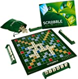Mattel Scrabble Board Game, Multi Color