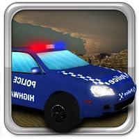 Wüste Polizeipark 3d