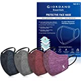 Giordano Sports Mask Extension Anti Pollution Multi-Layer Reusable Outdoor Face Mask Pack of 4