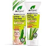 Dr. Organic Tea Tree Detergente Viso, 200ml