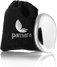 Silikon Makeup Schwamm Pamara Premium   Silikon Sponge Make-up Schwamm inkl. Samtbeutel   Zum einfachen Auftragen von Makeup   für jeden Hauttyp