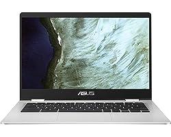 "ASUS Chromebook Z1400CN-EB0420 - Portátil de 14"" FullHD (Celeron N3350, 4GB RAM, 32GB eMMC, HD Graphics 500, Chrome OS) Plata"