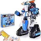 CIRO Roboter Kinder Spielzeug Bausatz Programmierbarer and Ferngesteuerter Steuerung per APP und Fernbedienung STEM…