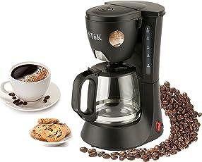 Stok ST-DCM01-1 : 600 Watt Drip Coffee Maker - 6 Cups(600Ml)