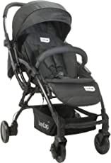 Luvlap Royal Baby Stroller Pram (Black)