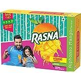 Rasna Fruit Fun MSP (32Gl+32GL+ 32GL) monocarton, Alphonso Mango Pack of 2