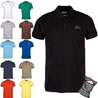 Kappa Polo Classico Edizione ZiATEC con Pratica Borsa per Il bucato | Camicia da Golf a Manica Corta Basico, Molti…