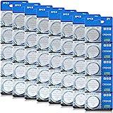 CR 2450 40er Votivkerzen,CR2450 Batterien 3V Lithium-Knopfzelle,Teelichter, Video, Computer, Rechner, IC-Karten…