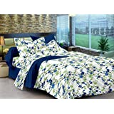 Ahmedabad Cotton Comfort Cotton King Size Bedsheet with 2 Pillow Covers (9ft * 9ft)