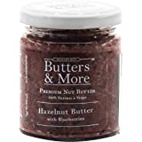 Butters & More Vegan Hazelnut Butter with Real Blueberries (200G) No Artificial Flavours Or Colour. Healthy Hazelnut Spread.