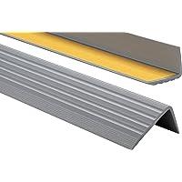 AUER Profil/é de jonction Rail de jonction type 08 en aluminium anodis/é Per/çage au centre Bronze fonc/é Largeur 60/mm
