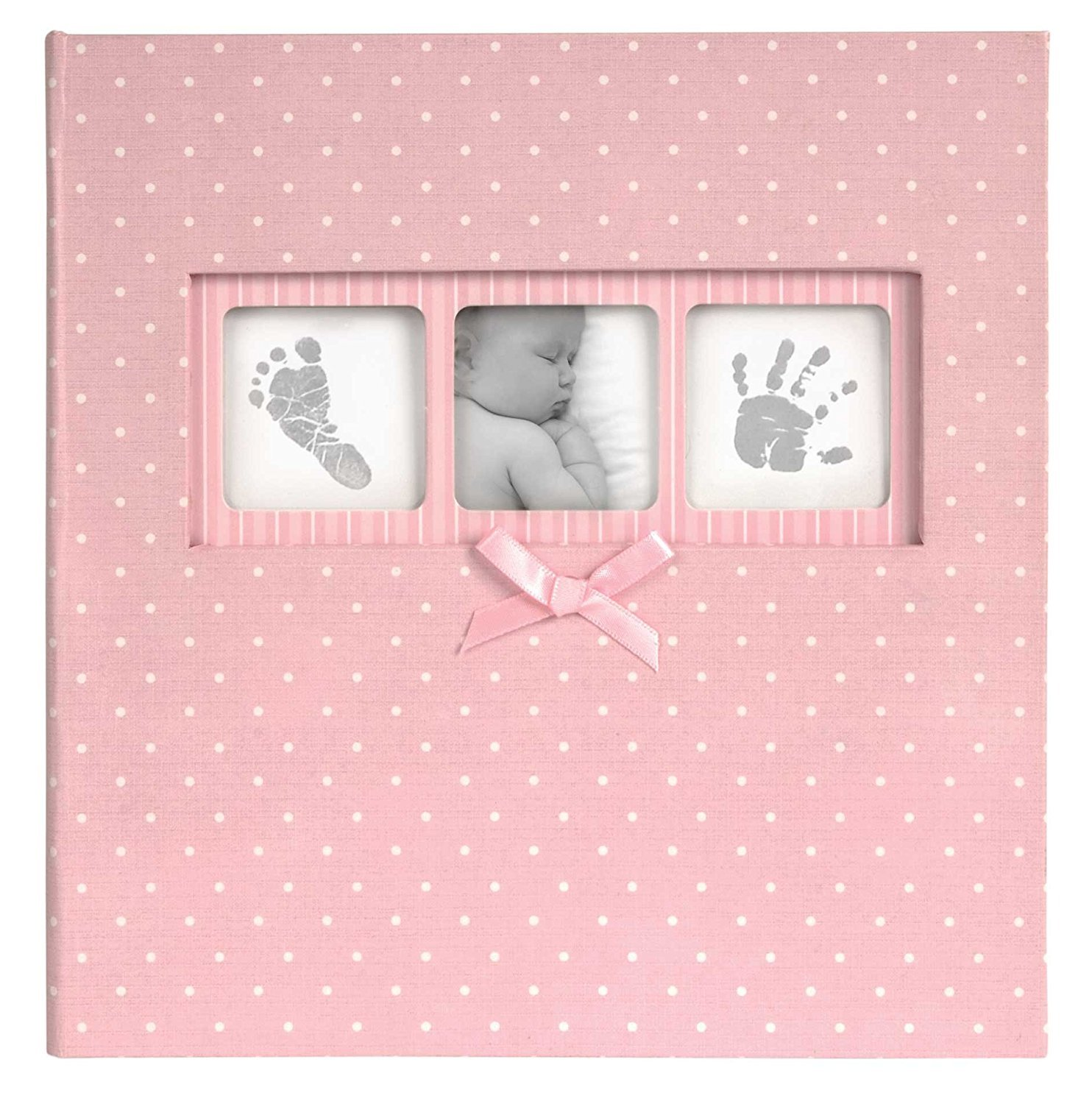 Innova Editions 50-Page Baby Polka Dot Book Bound Traditional ...