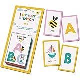 Fournier- Lemon Ribbon ABC. Mi Primer Juego para Aprender a Leer. Baraja de cartas Infantil Educativa, Color multiple (104417