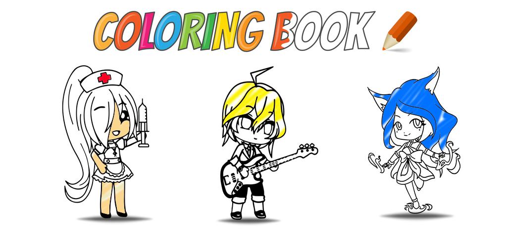Kids Coloring Book And Drawing Gacha