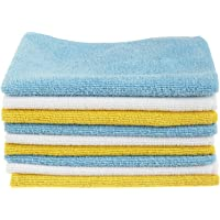 AmazonBasics Microfibre Cleaning Cloths Pack of 12