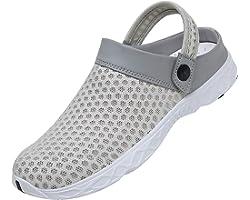 SAGUARO Unisex Respirable de la Red del Acoplamiento Zapatillas de Playa Ahueca hacia Fuera Las Sandalias
