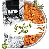 LYOFOOD, zuppa di gulasch, cibo liofilizzato privo di lattosio, adatto per il campeggio, le escursioni, in caso di…