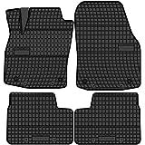 All4you Gummimatten Original Qualität Fußmatten 100 Passgenau Schwarz Gummi 4 Teilig Fahrzeugspezifisch Auto