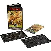 Tefal XA800212 Collection Set Snack Sandwich-Platte, dreieckig, Rezeptbuch mit 4,4 x 15,5 x 24,2 cm