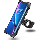 PACC MAN Bike Mobile Holder for All Bike and Bicycle Multi Angle Adjustable and 360 Degree Rotation (Handle Grip)