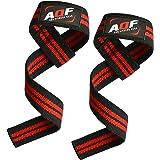 AQF Gewichtheffen Bandjes voor Gym, CrossFit niet-opgevulde Training Polssteun Bandjes Bodybuilding Powerlifting Fitness Webb