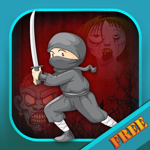 Ninja War : der Kampf gegen die Schatten 7 Samurai-Klinge-Clan - Gratis-Edition -