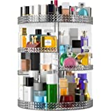 Famitree Rotating Makeup Organizer, Acrylic Perfume Makeup Storage, 7 Adjustable Layers Large Capacity Cosmetic Carousel, Fit