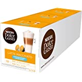 Nescafé - 12054912 - Dolce Gusto Latte Macchiato Sans Edulcorant - Pack de 3 Sachets (48 Capsules)