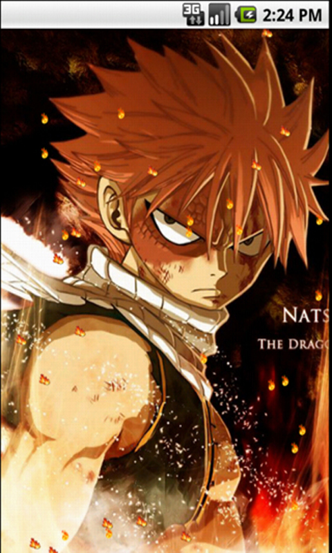 Natsu Fairy Tail Live Wallpapers Amazonde Apps Für Android