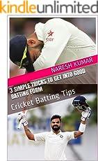 3 Simple Tricks to get into good batting form: Cricket Batting Tips (Batting Coach)