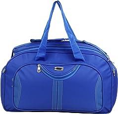 Jainsons Canvas Blue Travel Duffle Bag