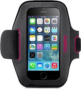 Belkin Sport Fit Sport Armband Schwarz Pink Elektronik