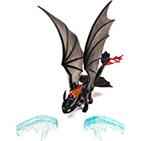 DreamWorks Dragons: How To Train Your Dragon 2 - Power Dragon ? Toothless (Ice Fling Action)